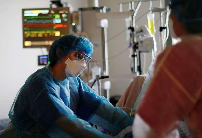 Au centre hospitalo-universitaire Pasteur de Nice, le 27novembre2020.